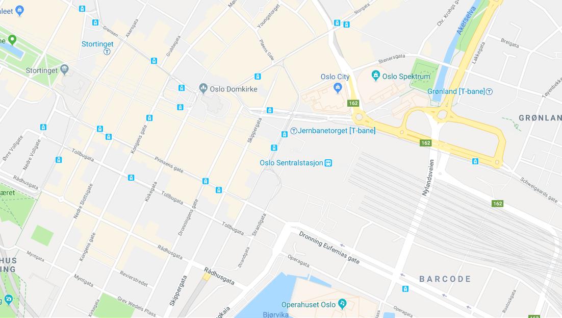 Google maps Teft