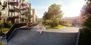Bilde av boligbygging for Amfi Kreativ