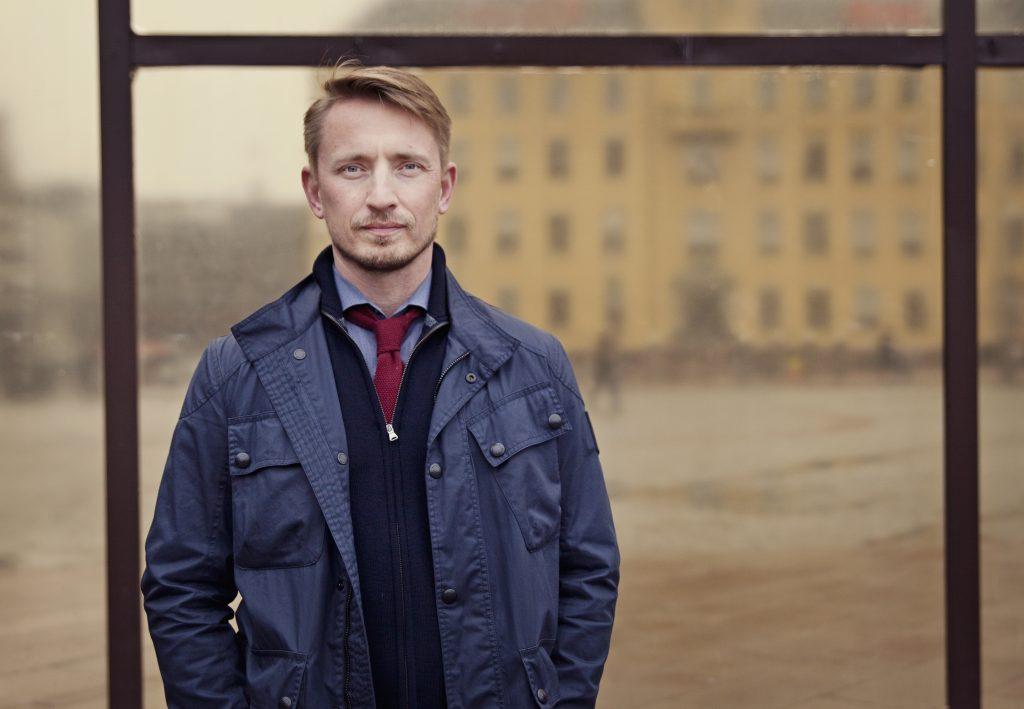 Portrett av Ole Janzso i Teft Flex