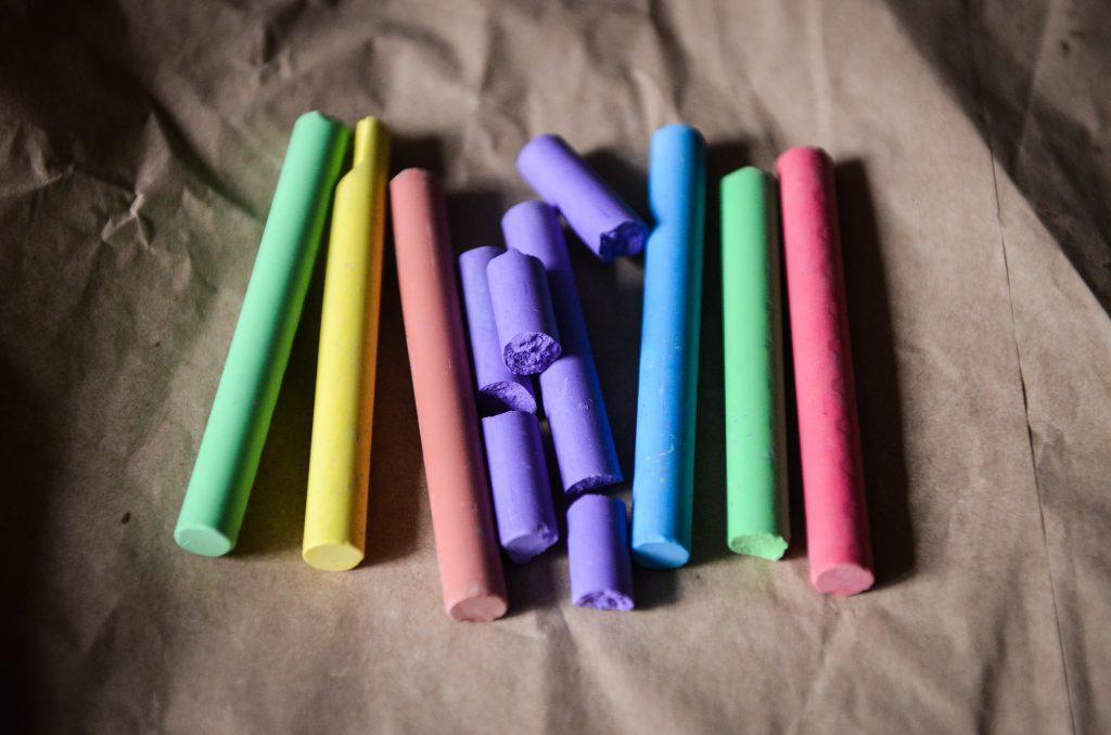 Bilde av fargekritt