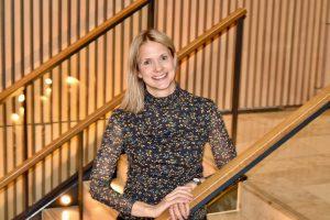 Portrett av Ingrid Wøien som er Digital Kundefront i KLP