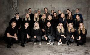 Gruppebilde av de ansatte Re:Media