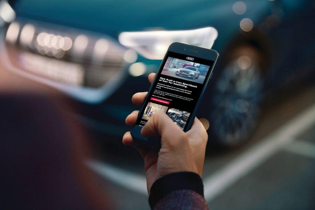 Bilde av appen til Audi