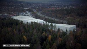 Bilde av bygge til innendørs skihall, SNØ