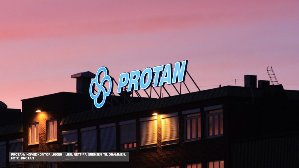 Bilde av hovedkontoret til Protan i Lier