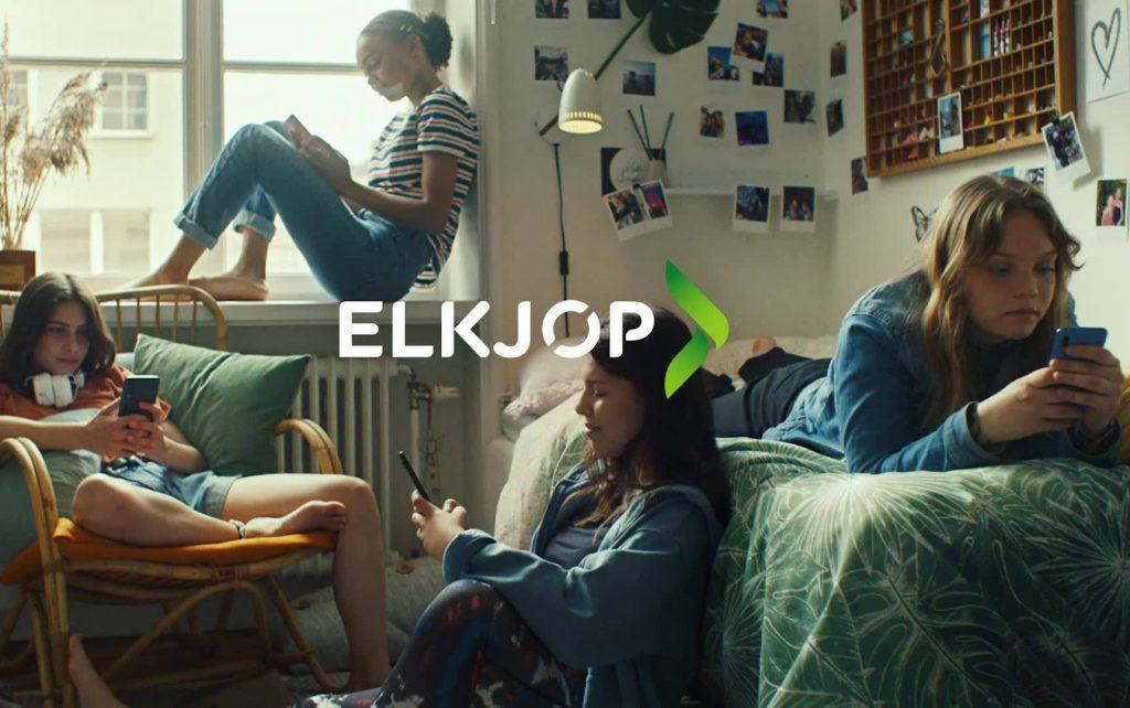 Reklameplakat for Elkjøp.