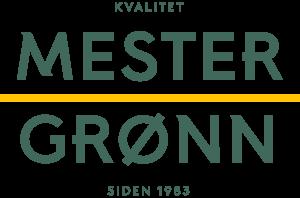 Mester Grønn logo - kvalitet siden 1983