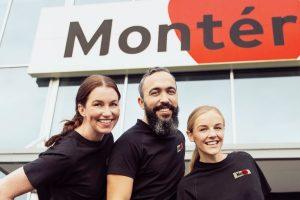 Monter ansatte
