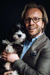 Thomas med hund